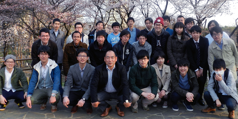 Members of Nakai Research Group in 2016