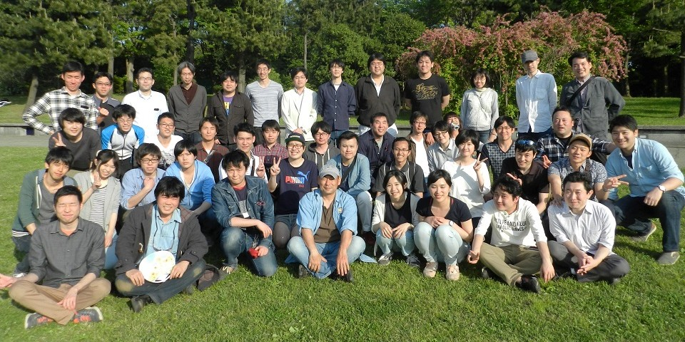 Members of Nakai Research Group in 2017